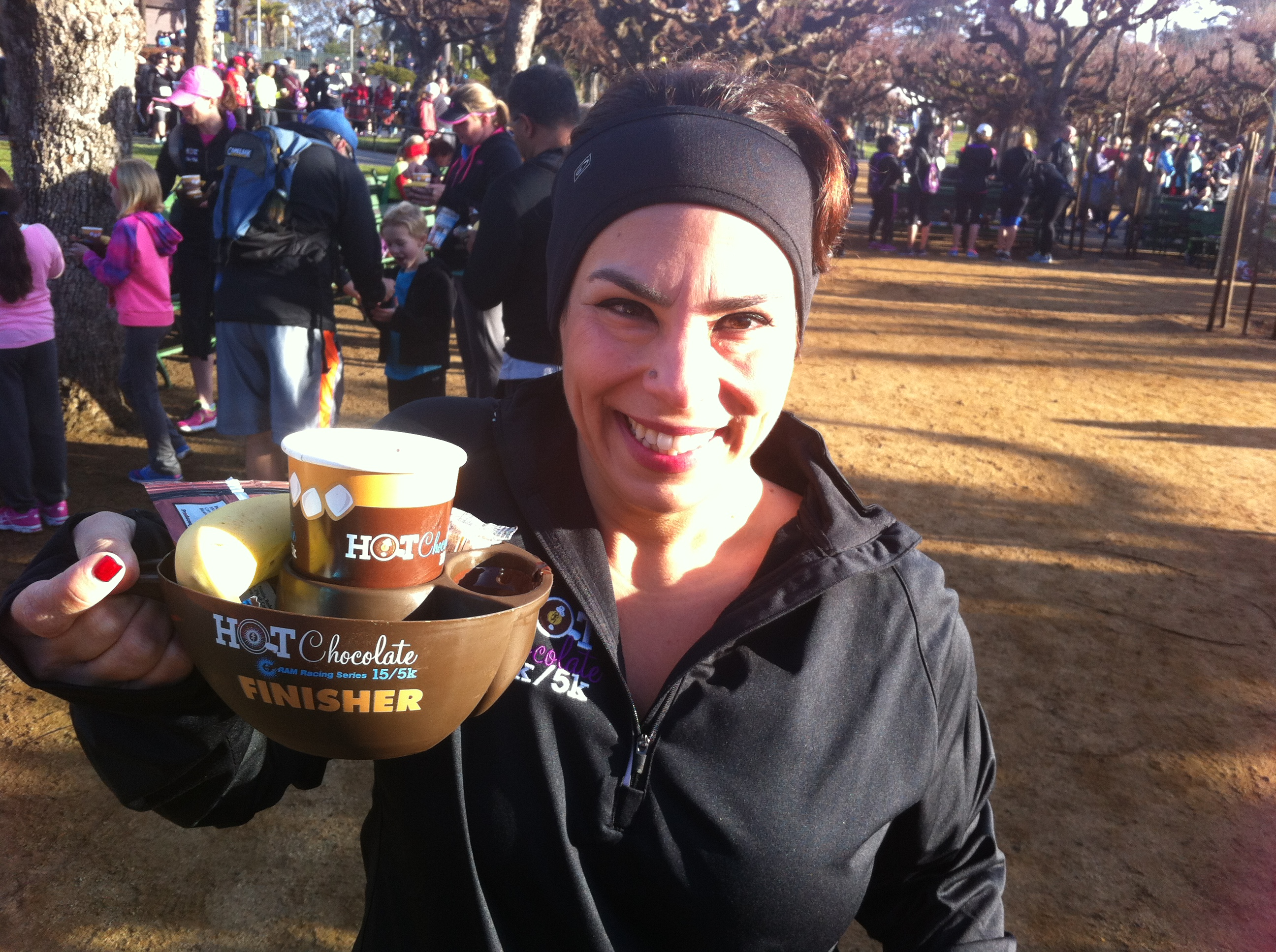 AIF: San Francisco Hot Chocolate 5K | Bella on the Beach