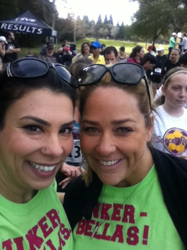 And what 5K would be complete without a pre-race selfie?