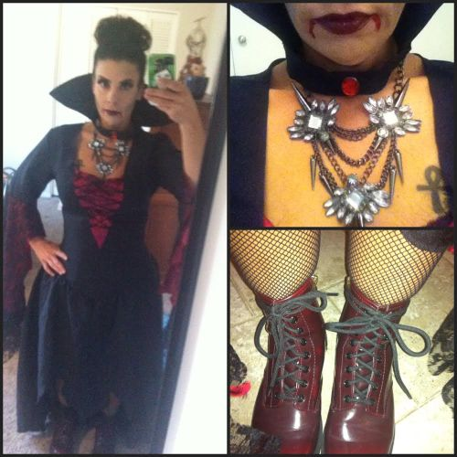 vampira collage